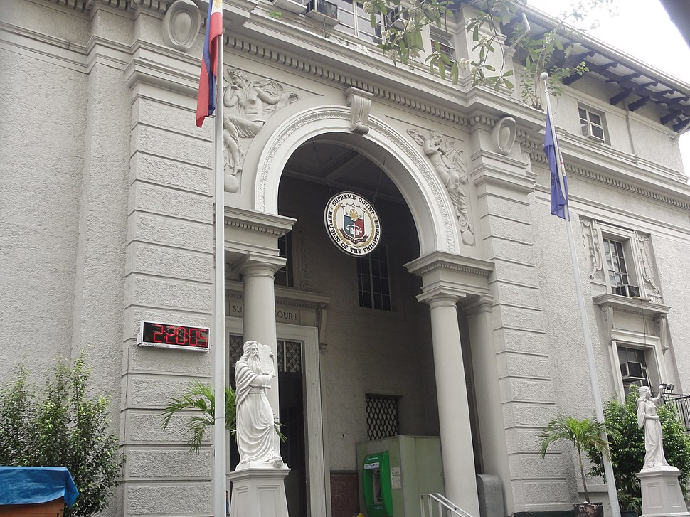Old building of the Philippines' Supreme Court, Ermita, Manila