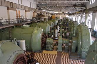 Olidan Hydroelectric Power Station - Image: Olidan maskinhall