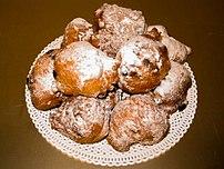Oliebollen Dutch doughnuts