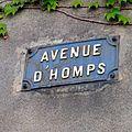 Olonzac (Hérault), Avenue d'Homps.jpg