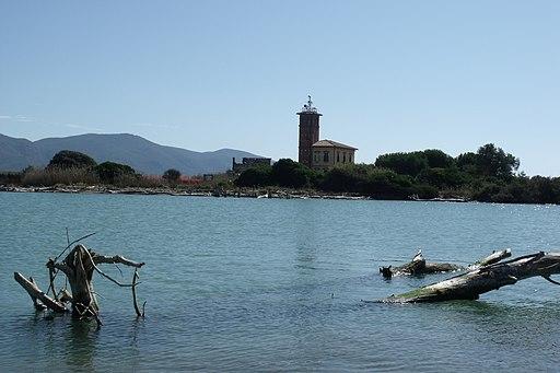 Bocca d'Ombrone, Torre della Trapola vicino a Principina di Grosseto