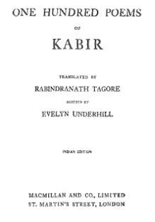 Index:One Hundred Poems Kabir (1915) djvu - Wikisource, the