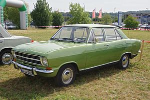 Opel Kadett - Opel Kadett B 4-door Limousine