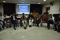 Open Discussion - Collaboration among Bengali Language Wikipedians of Bangladesh and West Bengal - Bengali Wikipedia 10th Anniversary Celebration - Jadavpur University - Kolkata 2015-01-09 2962.JPG