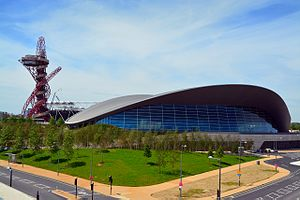 2016 European Aquatics Championships - Image: Orbit Tower Aquatics Centre