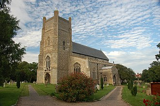 Orford, Suffolk - Image: Orford Church of St Bartholomew