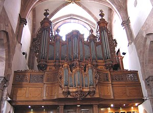 Organ (music) - Image: Orgue Saint Thomas Strasbourg a
