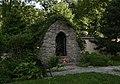 Orlová, kostel Narození Panny Marie - grotta.JPG