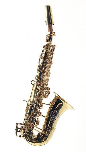 Sopranino saxophone - Image: Orsi Sopranino Saxophone