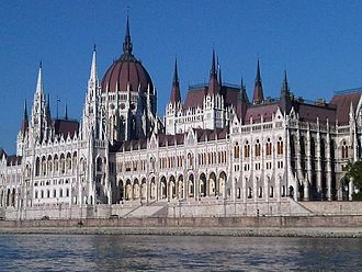 History of modern period domes - The Hungarian Parliament Building.