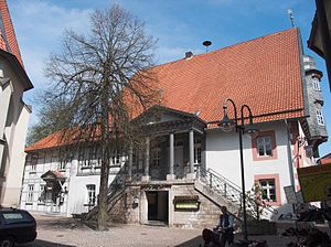 Osterode am Harz - Altes Rathaus, side view