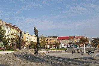 Ostrowiec Świętokrzyski - Town square