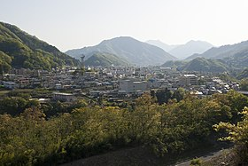 Otsuki City from Mt.Iwadono 01.jpg