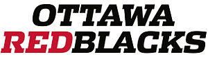 Ottawa Redblacks - Ottawa Redblacks wordmark