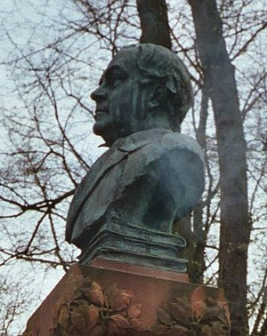 Otto Lindblad - Bust in honour to Otto Lindblad