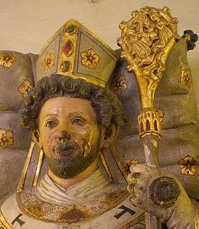 Saint Otto, depiction in Bamberg's Michaelskirche