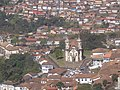 Ouro Preto MG Brasil - Igreja S. Francisco de Assis, vista do Mirante S. Sebastião - panoramio.jpg