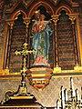 Ourville-en-Caux (Seine-Mar.) église Notre-Dame-de-l'Assomption, statue (03) Vierge à l'Enfant.jpg