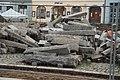 Overview of curbs at reconstruction of Karlovo náměstí at 2020 in Třebíč, Třebíč District.jpg
