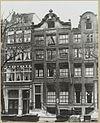 overzicht gevelwand grachtenhuizen - amsterdam - 20319347 - rce