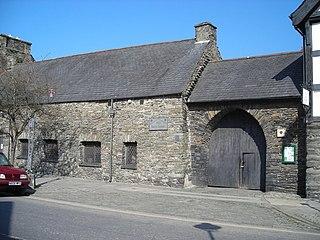 Owain Glyndŵrs Parliament House, Machynlleth Grade I listed building in Powys. Building in Machynlleth, Wales