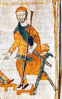Pepin of Italy son of Charlemagne and King of the Lombards