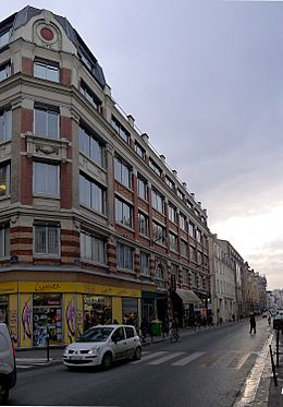 image illustrative de l'article Rue de Charonne