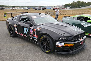Trans-Am Series - Brian Kleeman's Ford Mustang is typical of the TA4 class