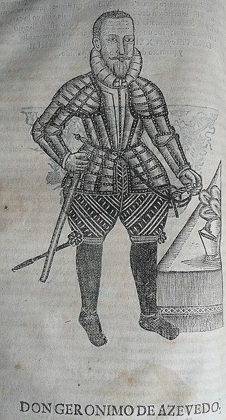 Jerónimo de Azevedo - Image: P1170551 D. Jerónimo de Azevedo