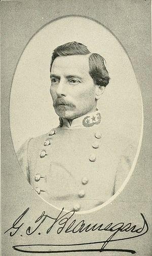 P. G. T. Beauregard - Confederate General P. Gustave Toutant Beauregard
