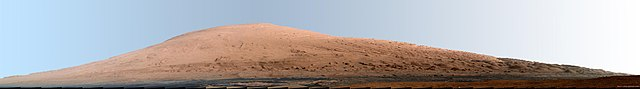Mount Sharp (credit NASA)