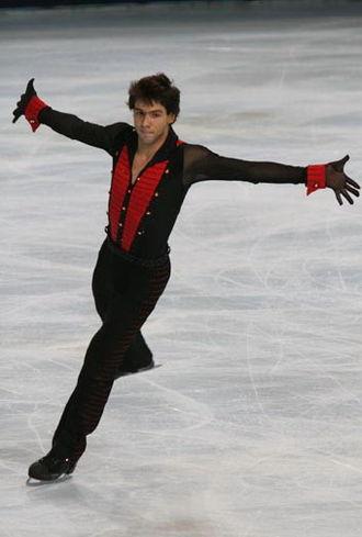 Alban Préaubert - Préaubert at the 2008 Trophée Eric Bompard.