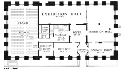PSM V79 D315 New american geographical society building plan.png