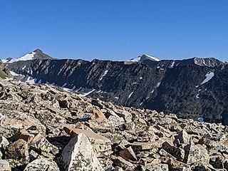 Pacific Peak Mountain in Colorado, United States