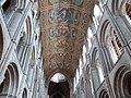 Painted wooden ceiling of Ely Cathedral, Cambridgeshire 01.jpg