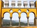 Palácio da Pena, Sintra. Moorish arches. (28070711578).jpg