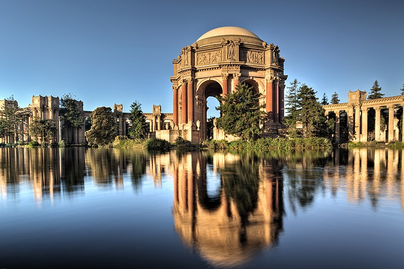 The Palace of Fine Arts, SF, CA