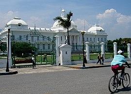 Präsidentenpalast in Port-au-Prince (vor seiner Zerstörung durch das Erdbeben)