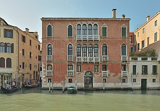 Palazzo Giustinian Persico palace in Venice, Italy
