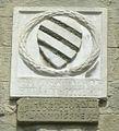 Palazzo del vicario di pescia, stemma esterno 11 sacchetti.jpg