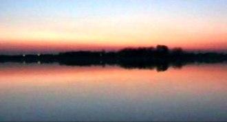 Palić - Palić lake at sunset