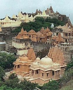 The Jain temples of Mount Shatrunjaya, at Palitana