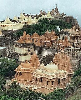 Jain temple the place of worship for Jains, the followers of Jainism