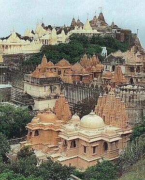 Jainism in Gujarat - Palitana Jain Temples