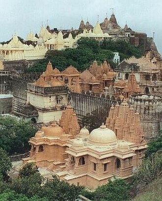Jain temple - Palitana Jain Temples