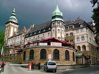 Lillafüred - Northern façade of Palace Hotel