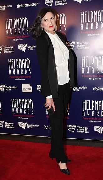 Pamela Rabe - Rabe at the 2015 Helpmann Awards