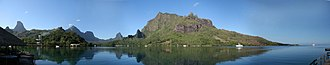 Mo'orea - Image: Panorama Moorea Baie de Cook