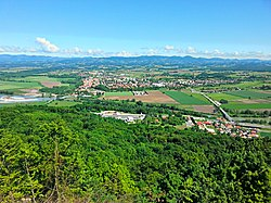 Panorama of Brežice (14147598506).jpg