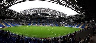 FC Astana - Image: Panorama of the Astana Arena